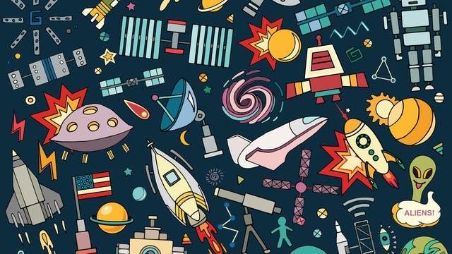 Raumfahrt- und Astrochaos