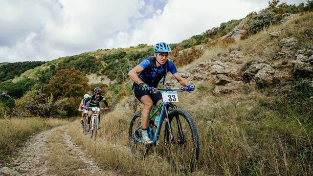 Durch regelmäßiges Training - zum Beispiel Mountainbiken - wächst das Herz