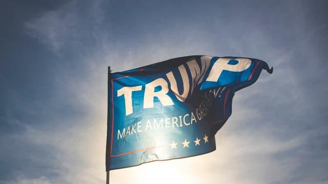 Trump-Flagge