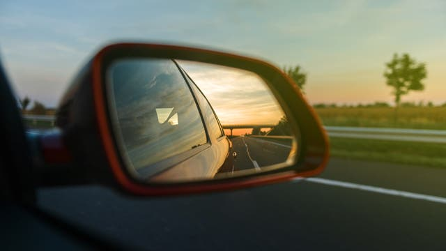 Blick in den Rückspiegel