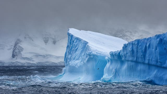 Eis in der Antarktis