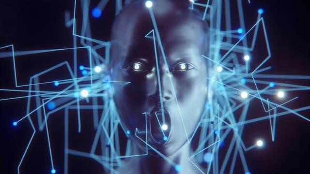 Ein schreiender Cyborg: Künstliche Intelligenz zeigt Emotion