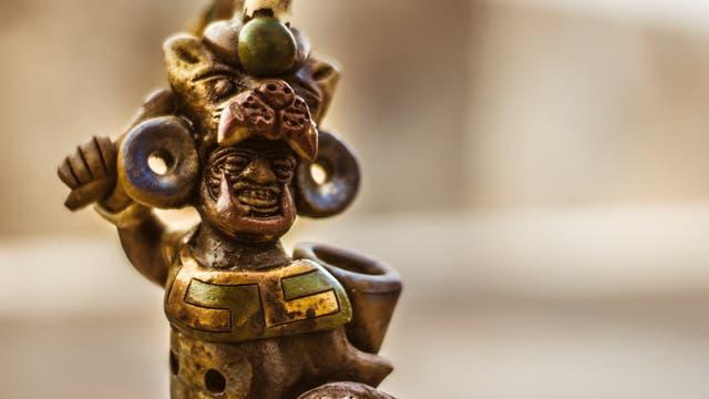 Menschenopfer der Azteken