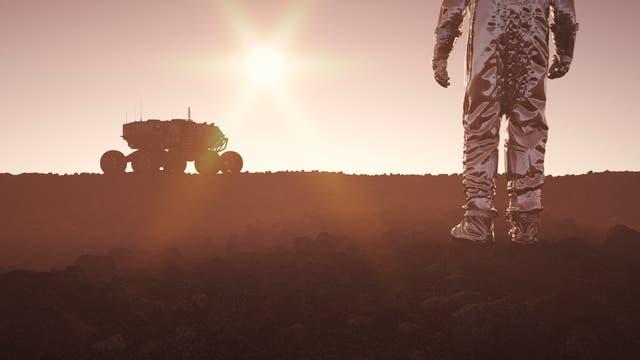 Besiedlung eines fremden Planetens