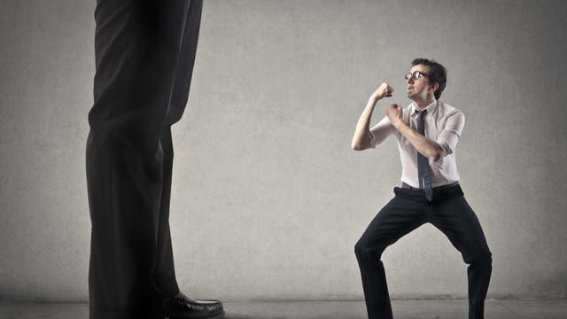 Ungleiche Ausgangsbedingungen: David gegen Goliath