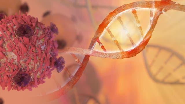 Tumorzelle und DNA