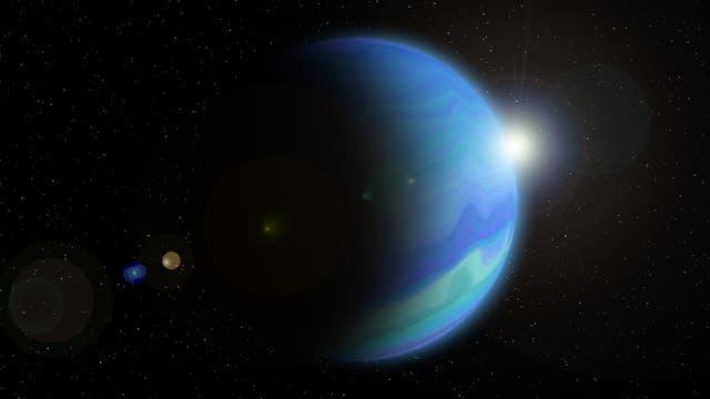 Der äußerste Planet Neptun wurde im Jahr 1846 von Johann Gottfried Galle von Berlin aus entdeckt.