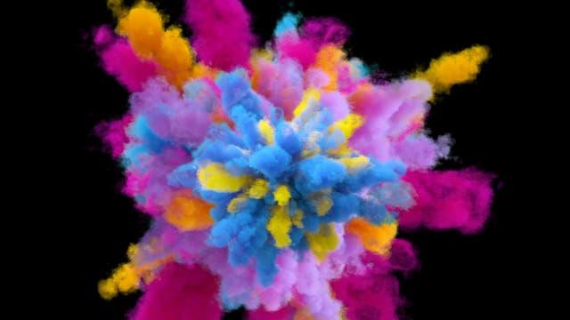 Kreative Explosion