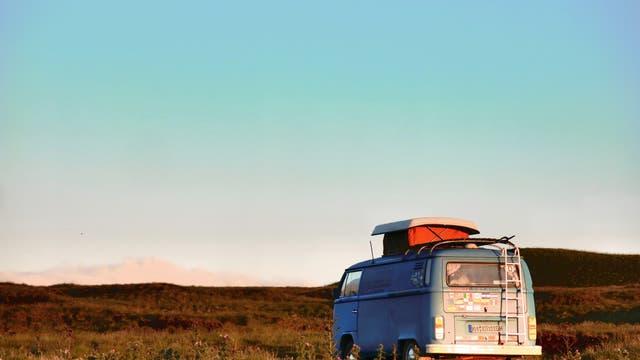 VW-Bus Camping in der Abgeschiedenheit