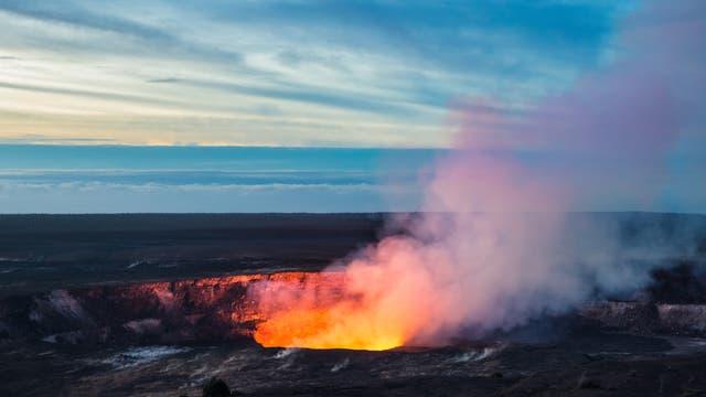 Krater des Kilauea