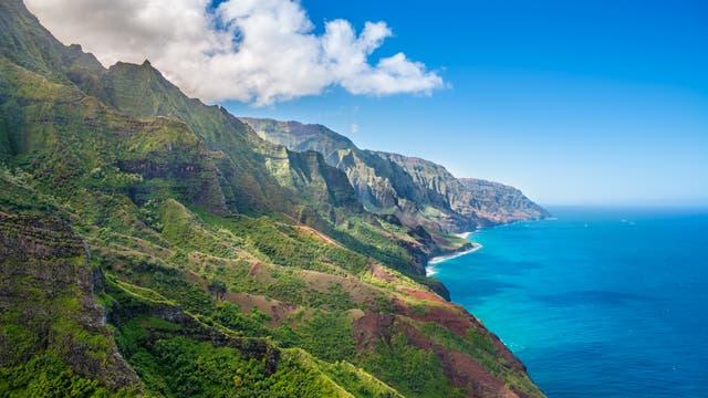 Na Pali Küste der Hawai-Insel Kauai