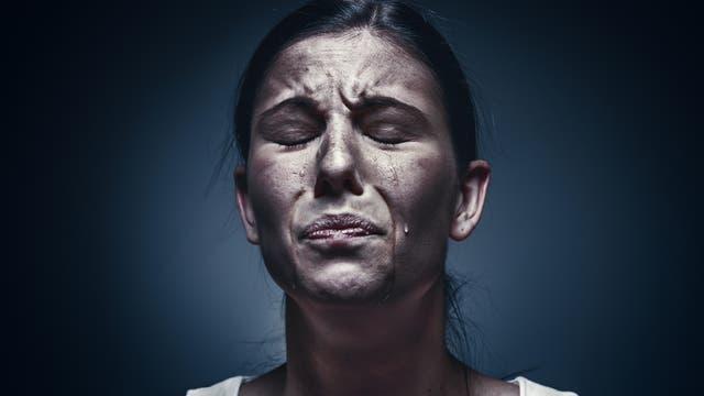 Weinende Frau