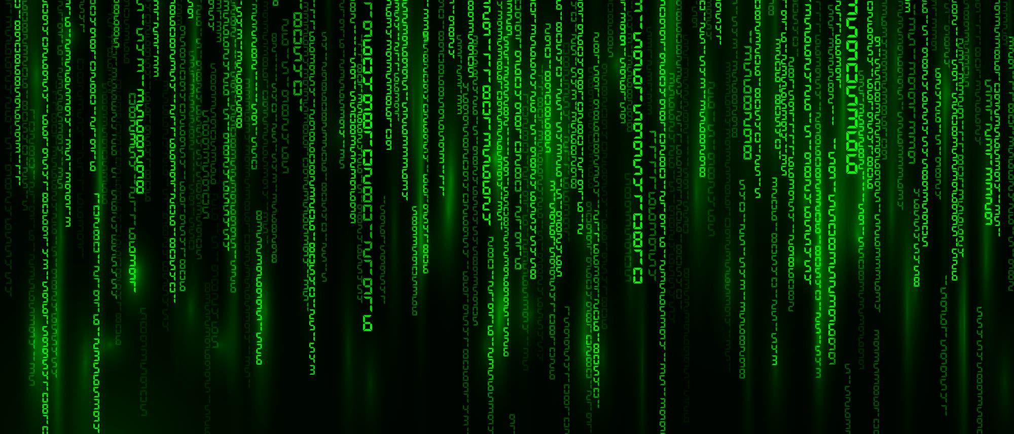 Matrix  - Fallende Buchstaben