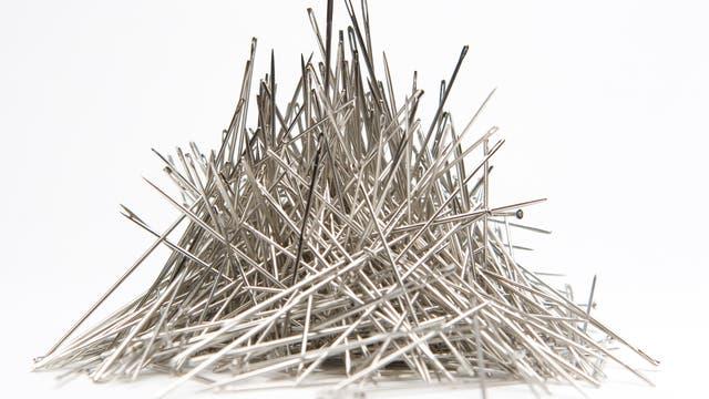 Ein Haufen Nadeln