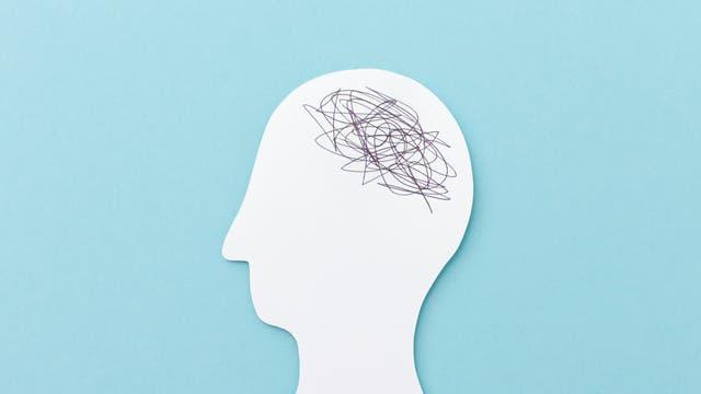 Schematische Abbildung eines Kopfes