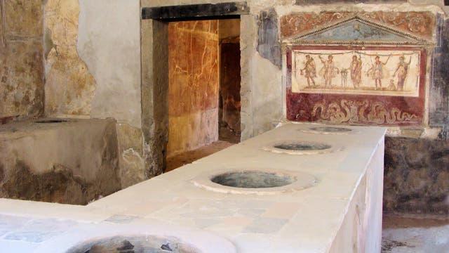 Kein Vomitorium, sondern eine römische Wirtschaft