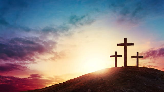 Gruppe von Kreuzen