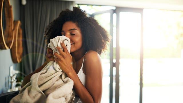 Der Duft frischer Wäsche