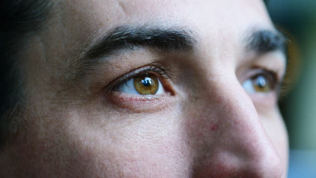 Augen eines Mannes