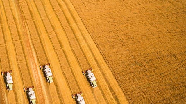 Landmaschinen im Einsatz