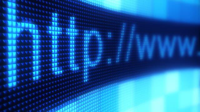 Adressleiste eines Internetbrowsers