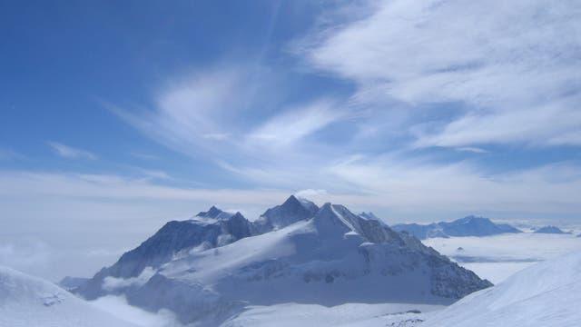 Mount Vinson - abgelegen in der Antarktis