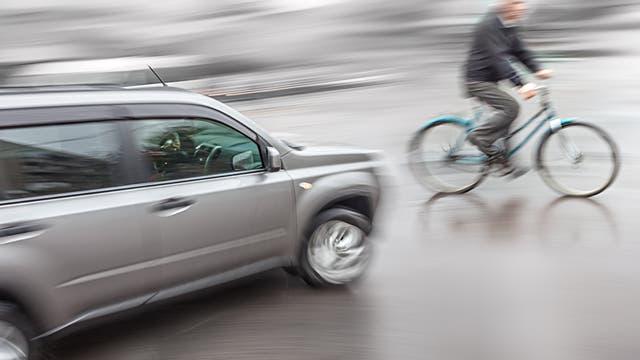 Unfall mit Fahrradbeteiligung