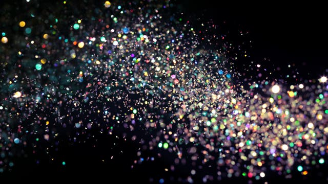 Bunte Kugeln als Neutrinos