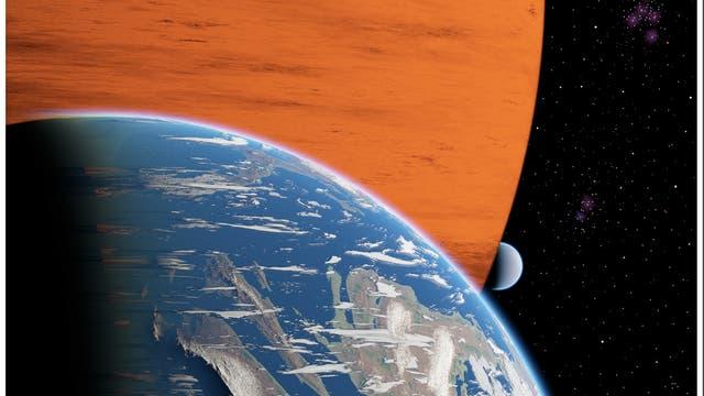 Zwei Monde um einen Exoplaneten