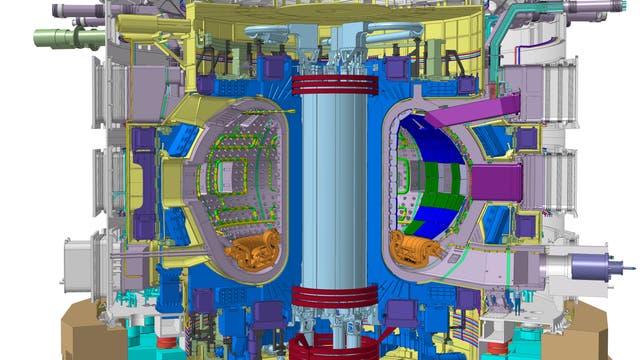 ITER Fusionsreaktor