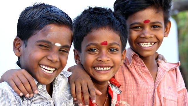 Junge Inder