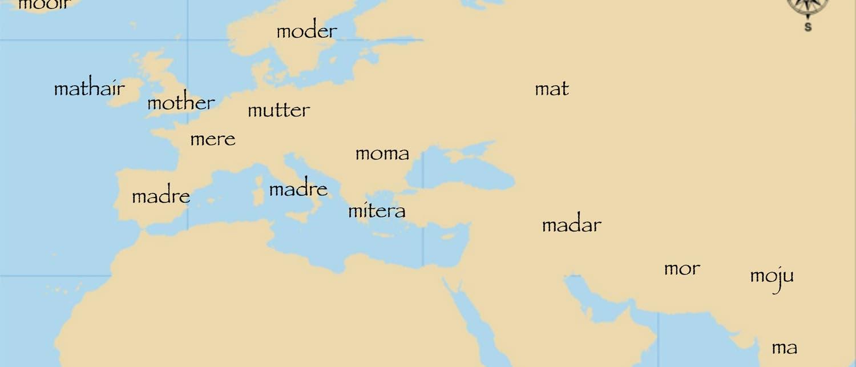 Indoeuropäische Wortverwandschaft