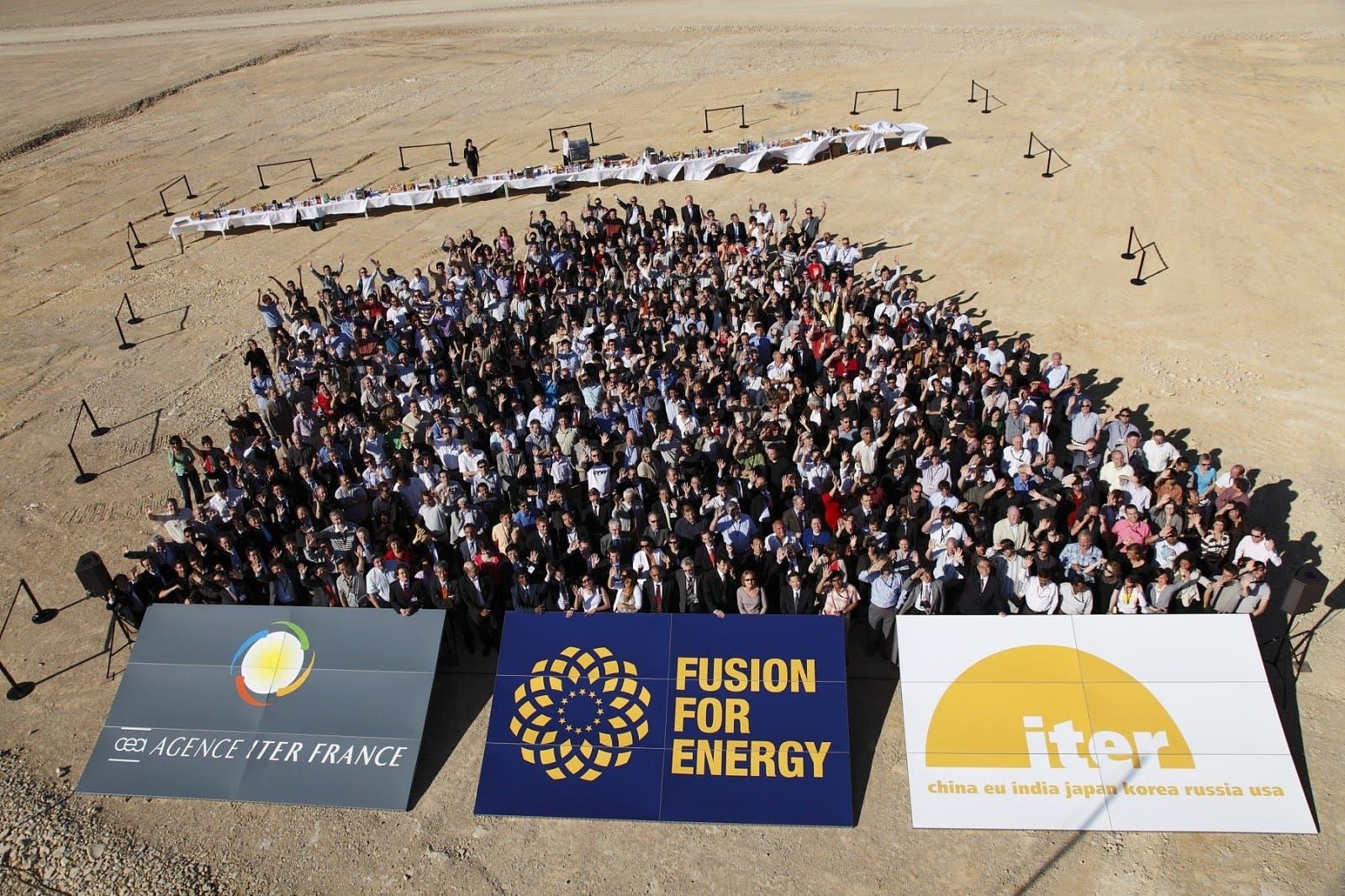 Großprojekt ITER – Drei Organisationen; viele Köpfe