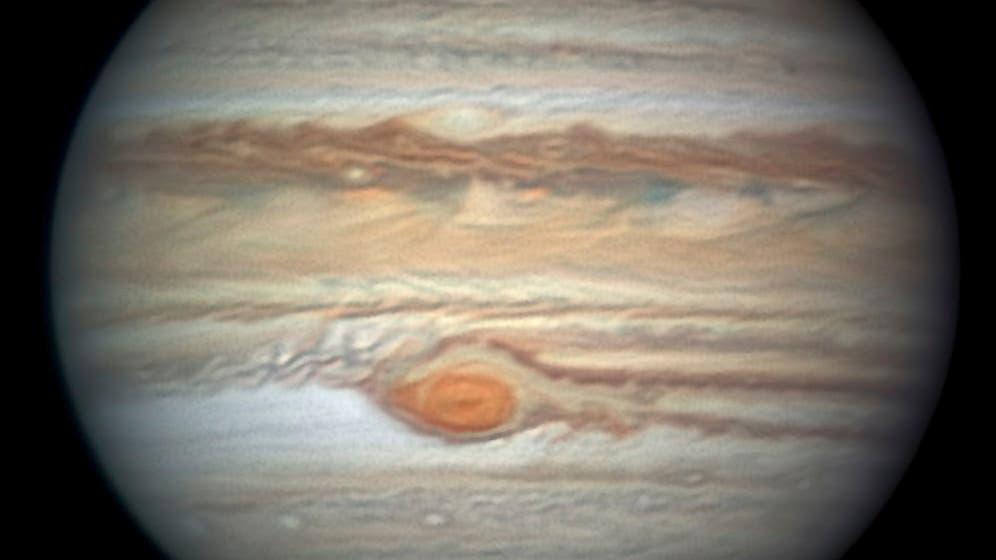 Das »blutende Auge« des Jupiters