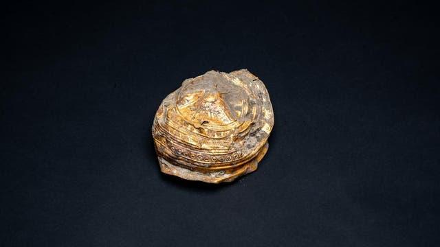 Rund 3000 Jahre alte Goldschale aus Ebreichsdorf.