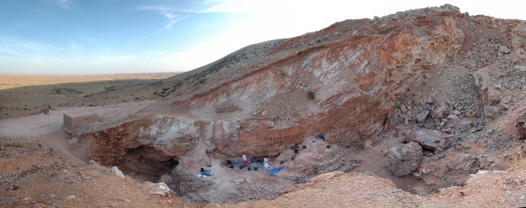 Ausgrabungen in Jebel Irhoud