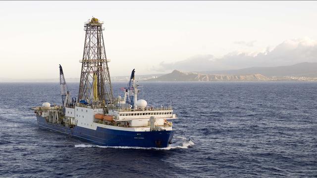 Forschungsschiff JOIDES Resolution