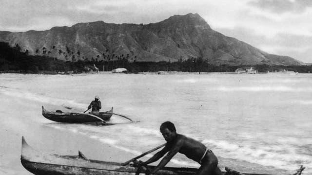 Polynesische Kanus