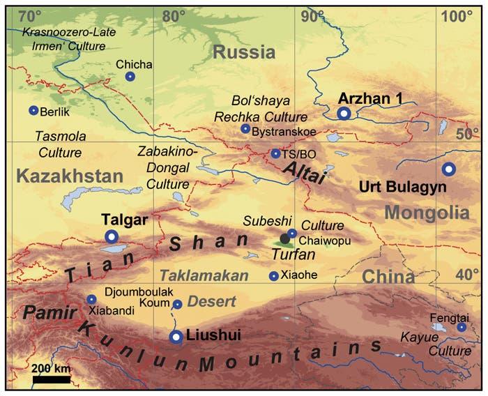 In Zentralasien ...