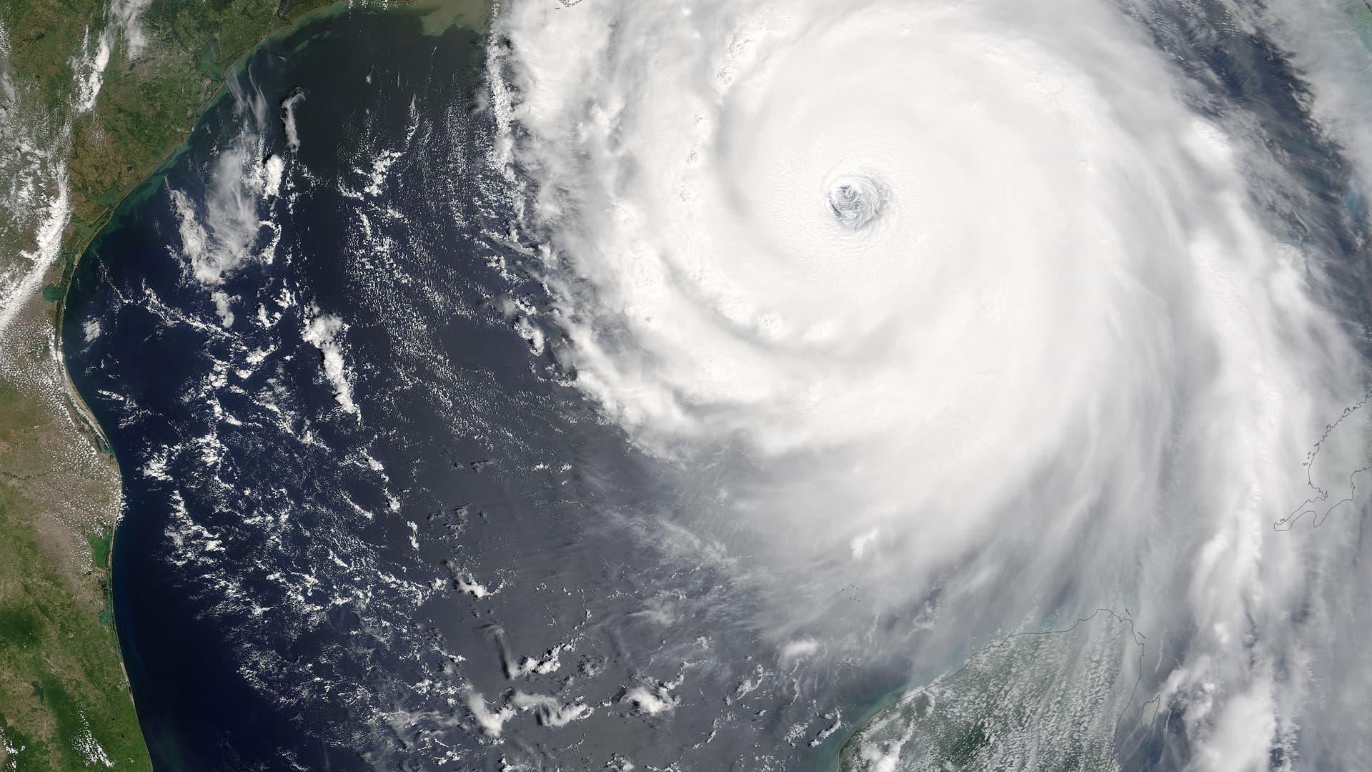 Katrina vor New Orleans