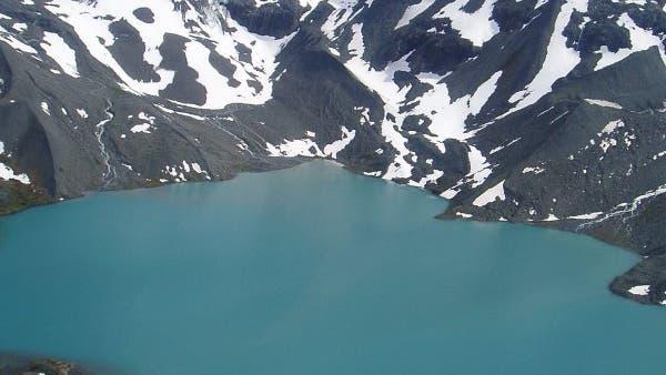 Gletschersee in Alaska
