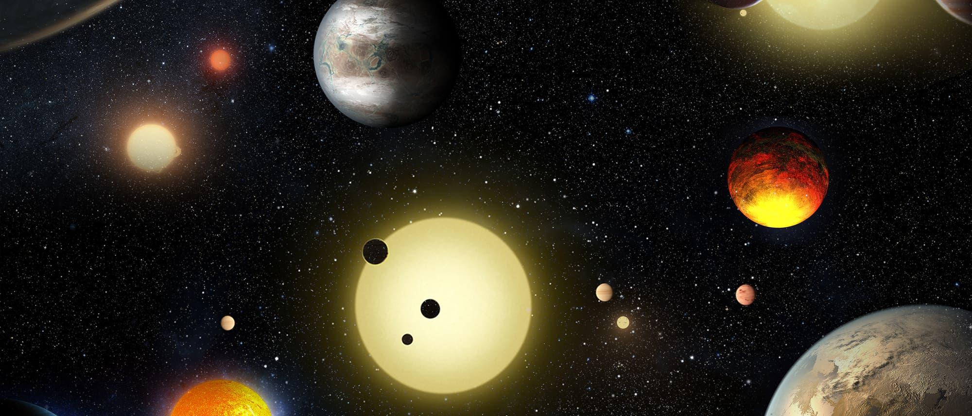 Astronomen haben schon zahlreiche Exoplaneten aufgespürt, aber noch keine zweite Erde.