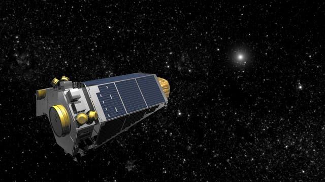 Weltraumteleskop Kepler (künstlerische Darstellung)