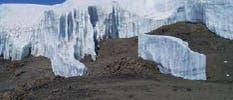 Gletscherschwund am Kilimandscharo