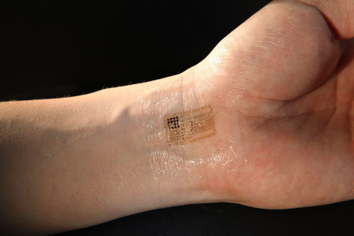 Elektronisches Tattoo