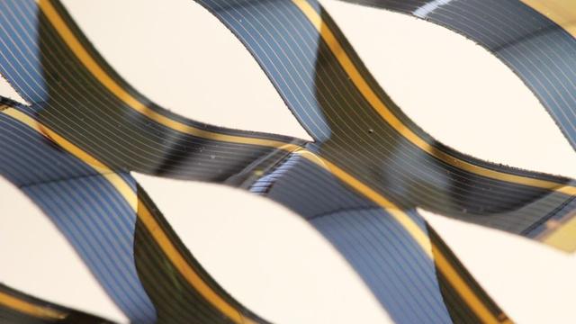Kirigamie-Solarzelle