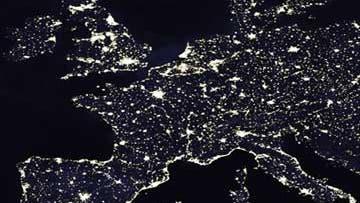 Lichter der Großstädte