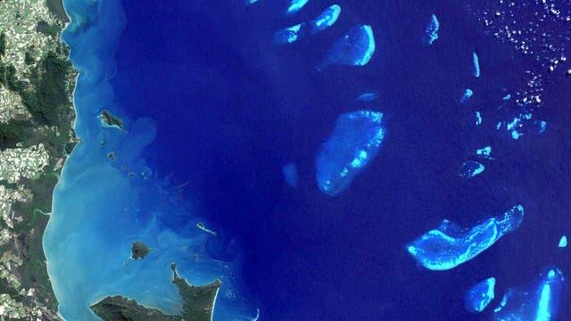 Great Barrier Reef aus dem All