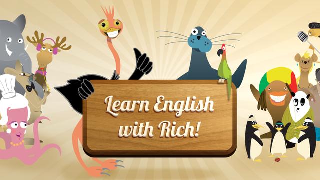 Englisch lernen mit Rich!