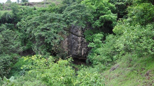 Mota Cave in Äthiopien